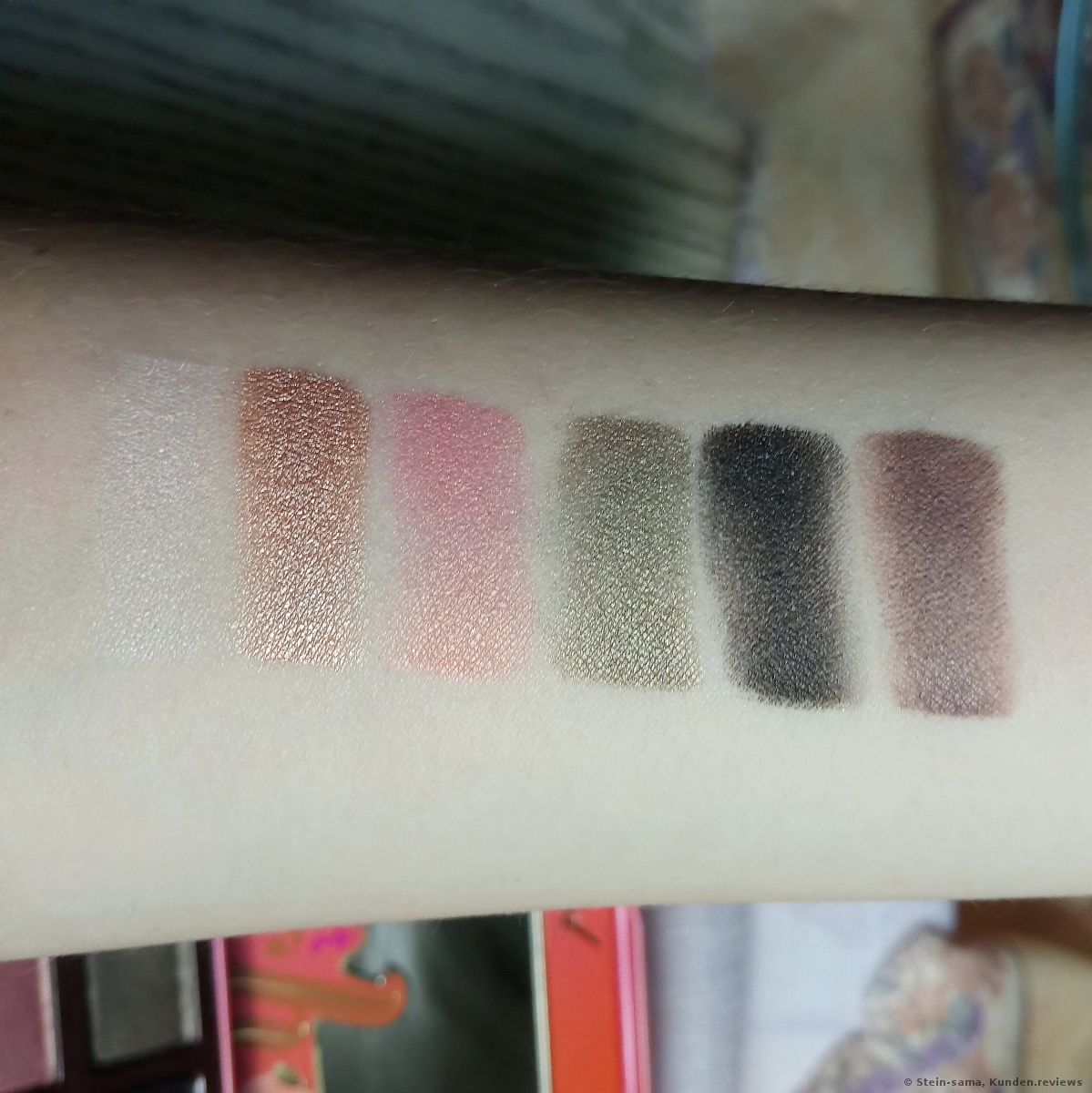 Too Faced Lidschatten Sweet Peach Eye Shadow Collection