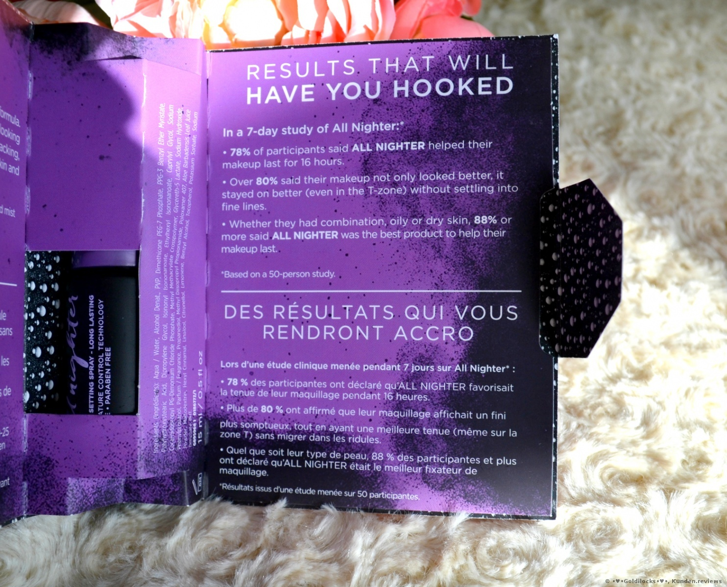 Urban Decay Fixierung All-Nighter Make-up Setting Spray