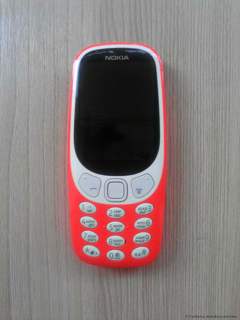 Nokia 3310 Dual SIM, Version 2017