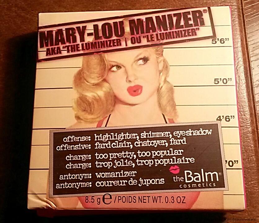 Highlighter von The Balm Mary-Lou Manizer
