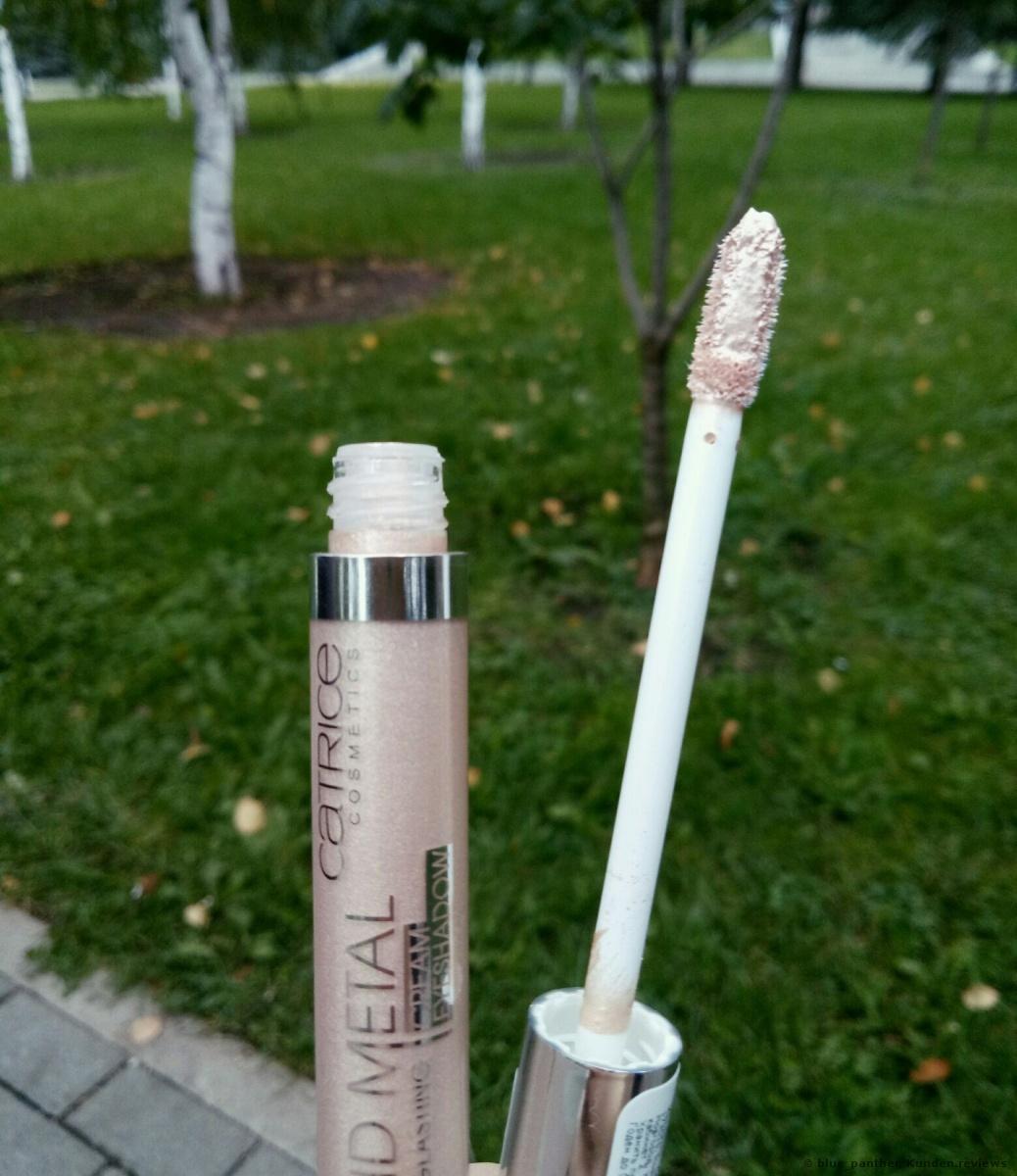 Catrice Liquid Metal Longlasting Cream Eyeshadow Lidschatten Foto