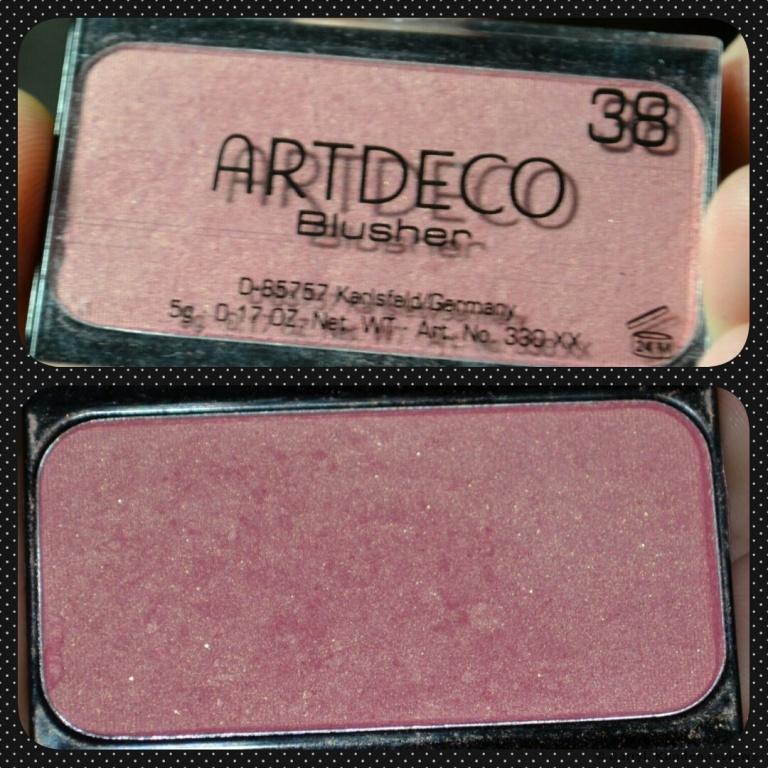 Artdeco Rouge Blusher #38