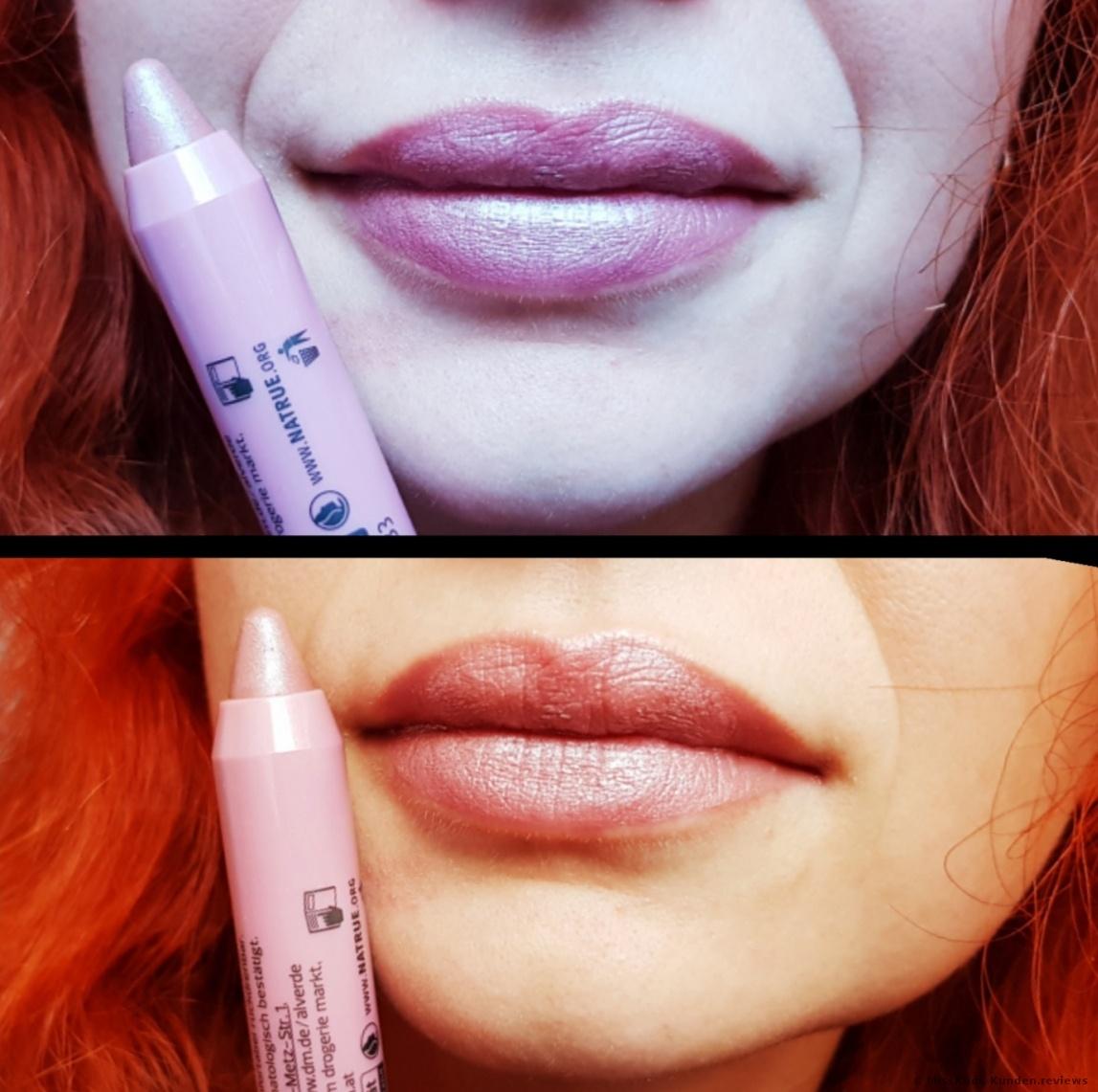 alverde NATURKOSMETIK Lippenstift Matt Metallic
