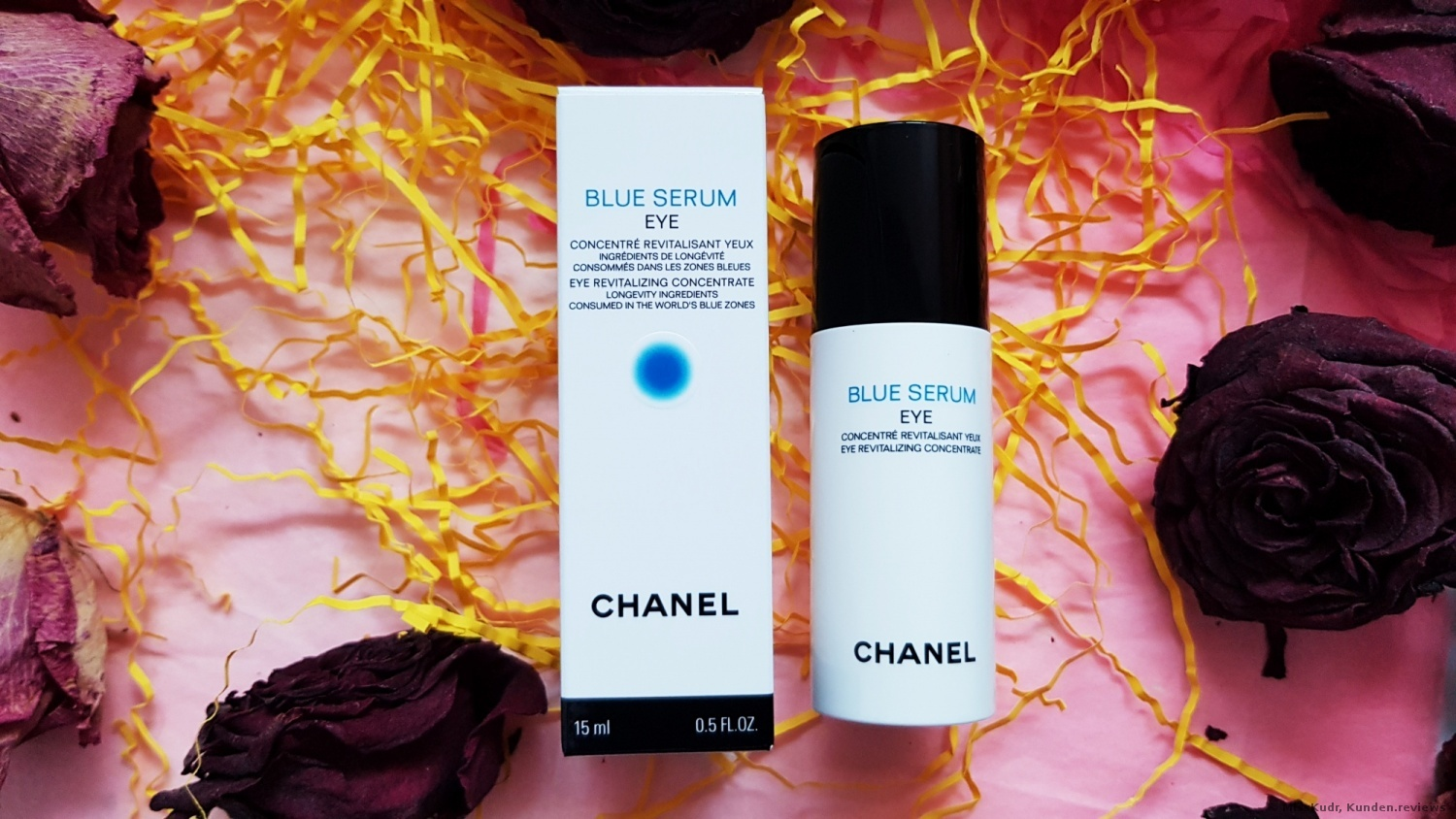 Chanel Blue Revitalizing Augenserum Foto