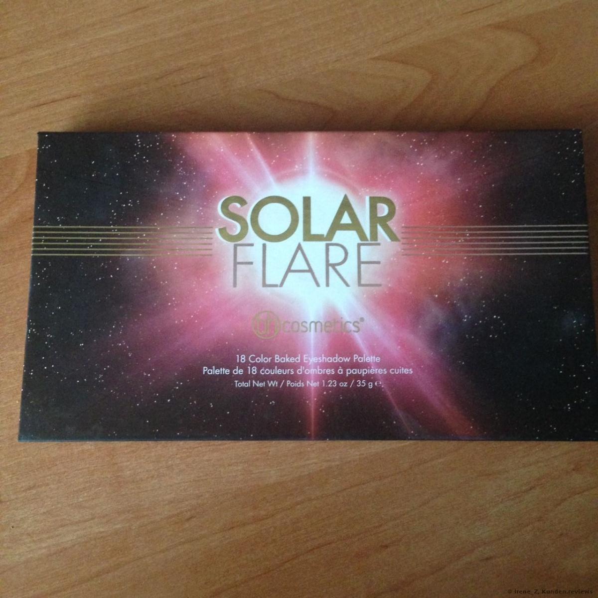 BH Cosmetics Solar Flare Lidschatten Foto