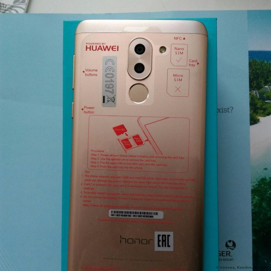 Huawei Honor 6X Smartphone Foto