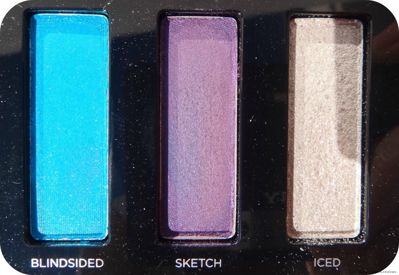 """Urban Decay """"Full Spectrum Palette"""" im Sonnenlicht"""