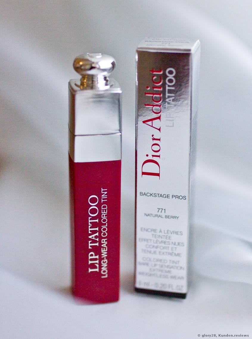 Dior Addict Lip Tattoo Lippenfarbe Lippenstift Foto
