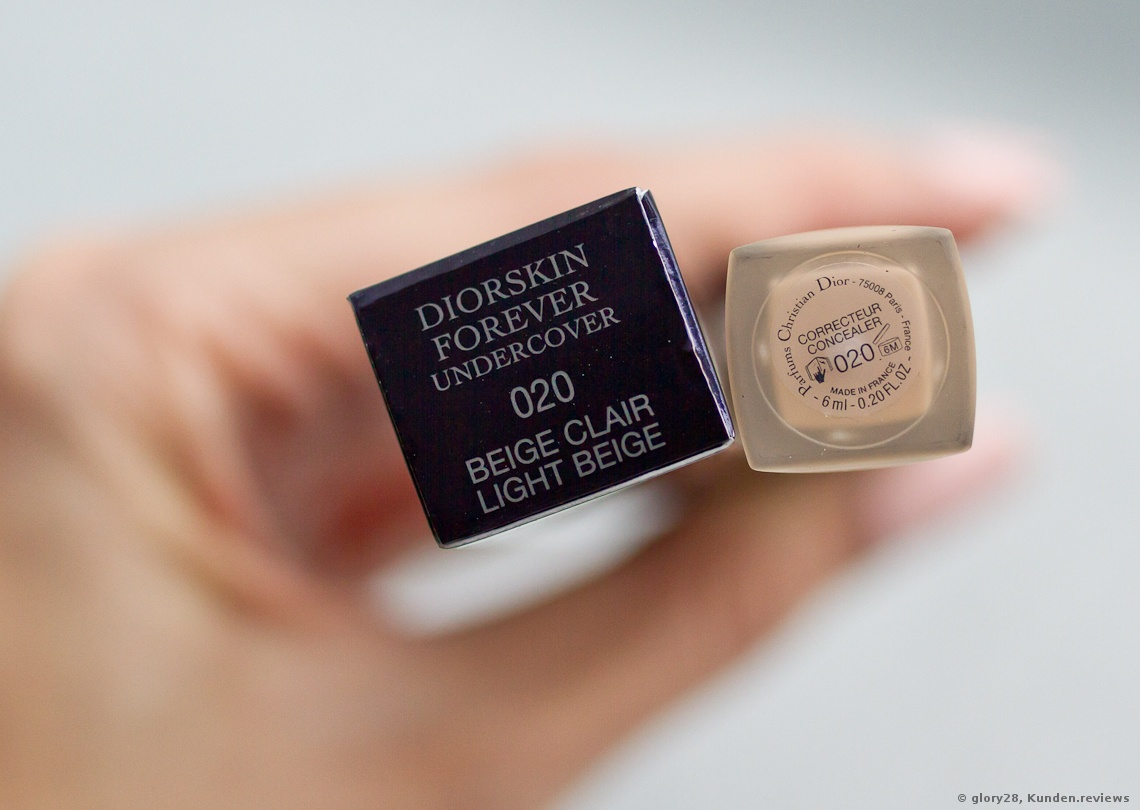 Dior Diorskin Forever Undercover: Die Nuance 020