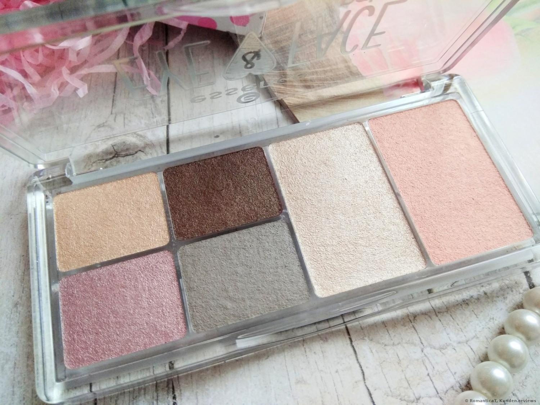 essence cosmetics Lidschatten eye & face palette glow for it 01