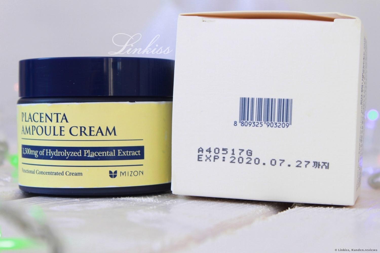 Placenta Ampoule Cream von Mizon