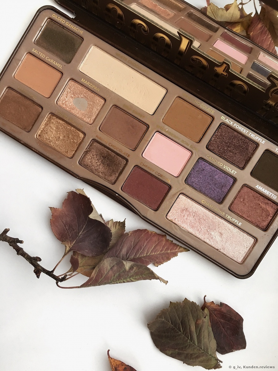 TOO FACED Chocolate Bar Eye Shadow Collection Palette