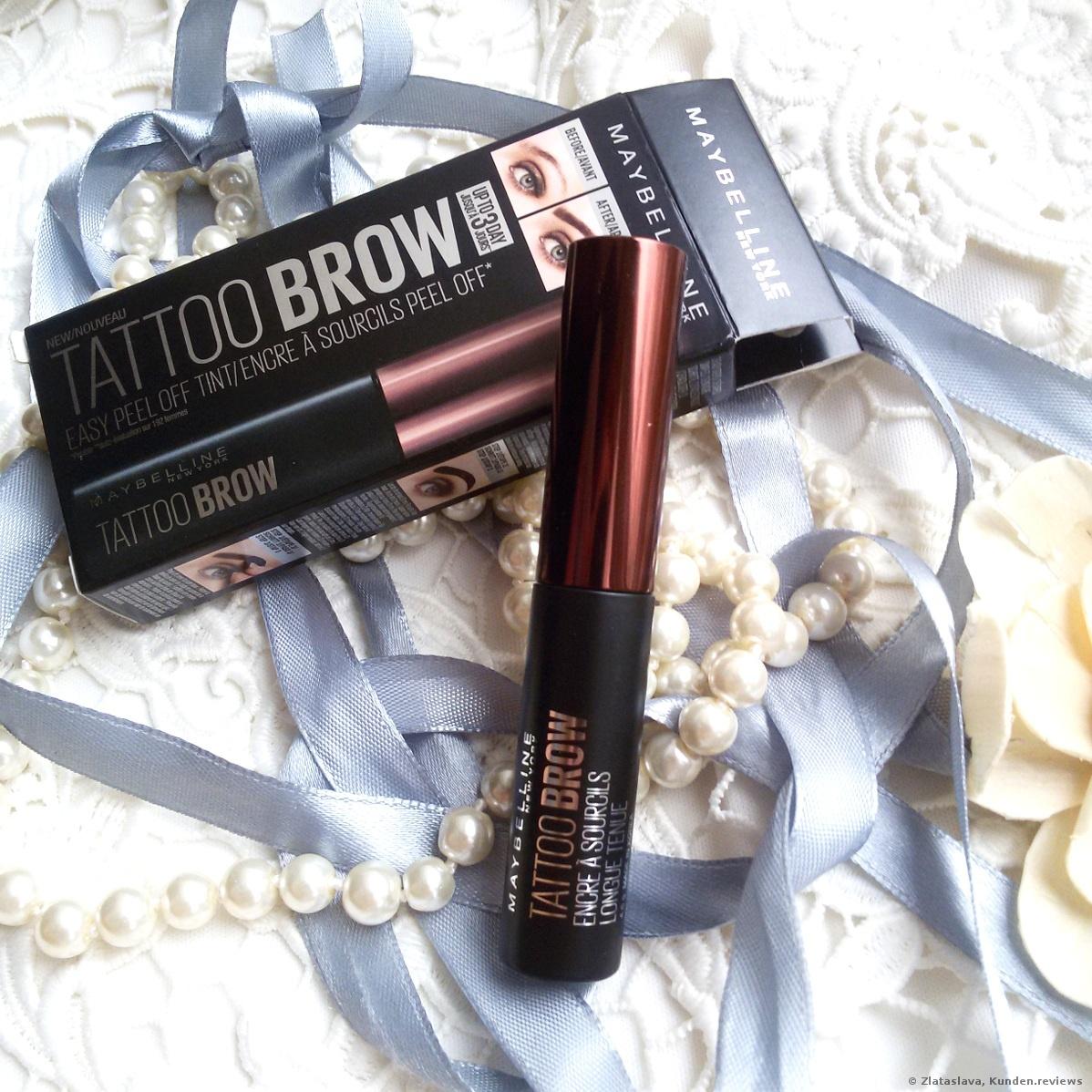 Maybelline TATTOO BROW  Augenbrauenfarbe Foto