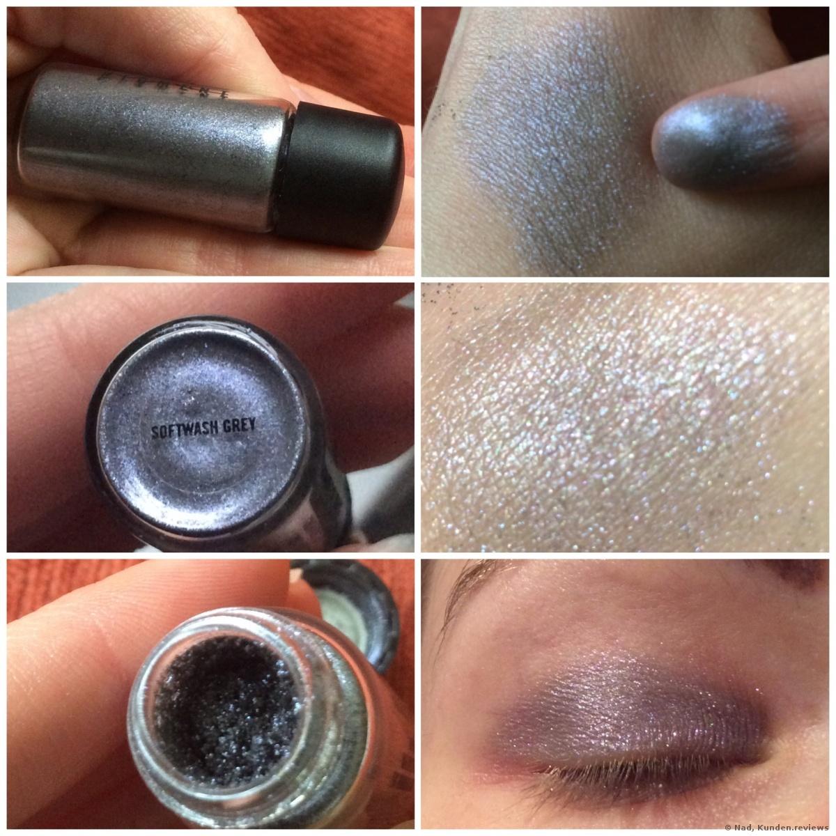 MAC Lidschatten Pigment - Softwash Grey