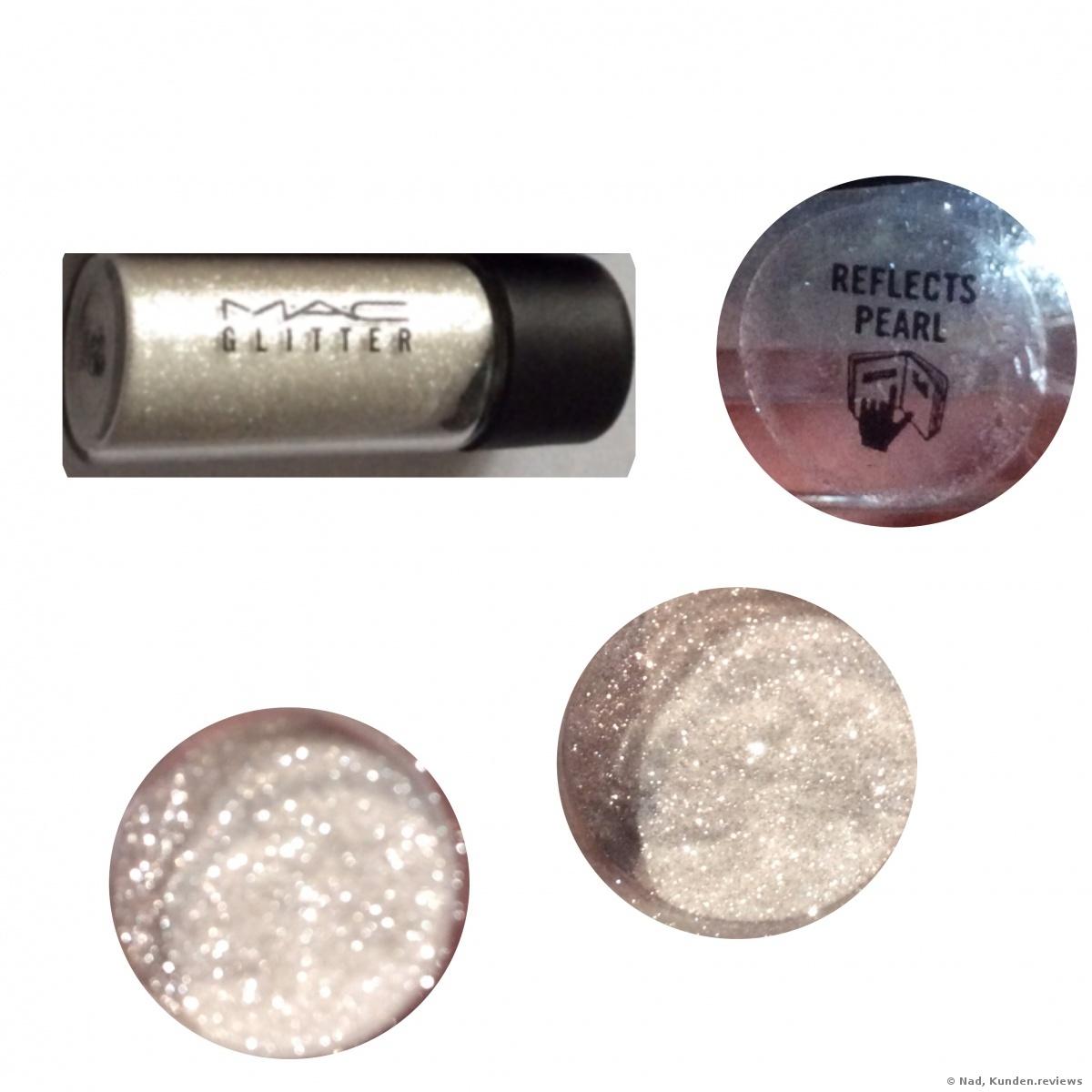 MAC Lidschatten Pigment - Reflects Pearl Glitter