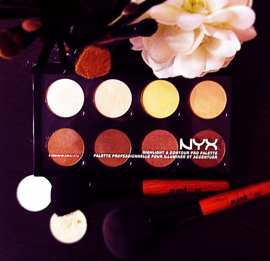 NYX Highlight & Contour Pro   Palette Foto