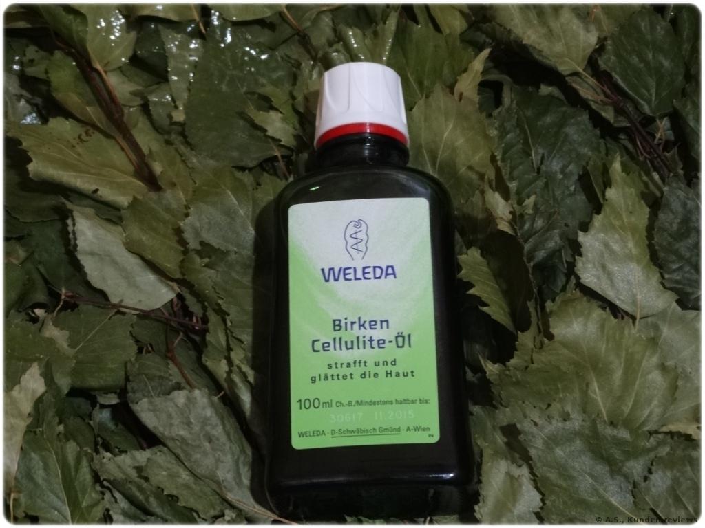 Weleda Körperöle Birken-Cellulite-Öl