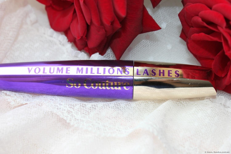 L'Oréal Paris Volume Million Lashe L'Oréal Paris Volume Million Lashes Mascara So Couture s Mascara So Couture