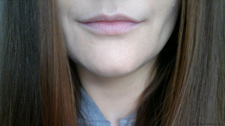 Meine Lippen mit ein bisschen BB Creme