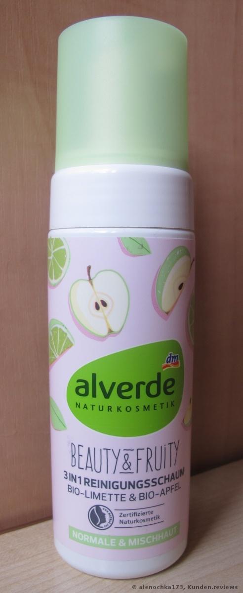 Reinigungsschaum Beauty & Fruity 3in1 Bio-Limette Bio-Apfel