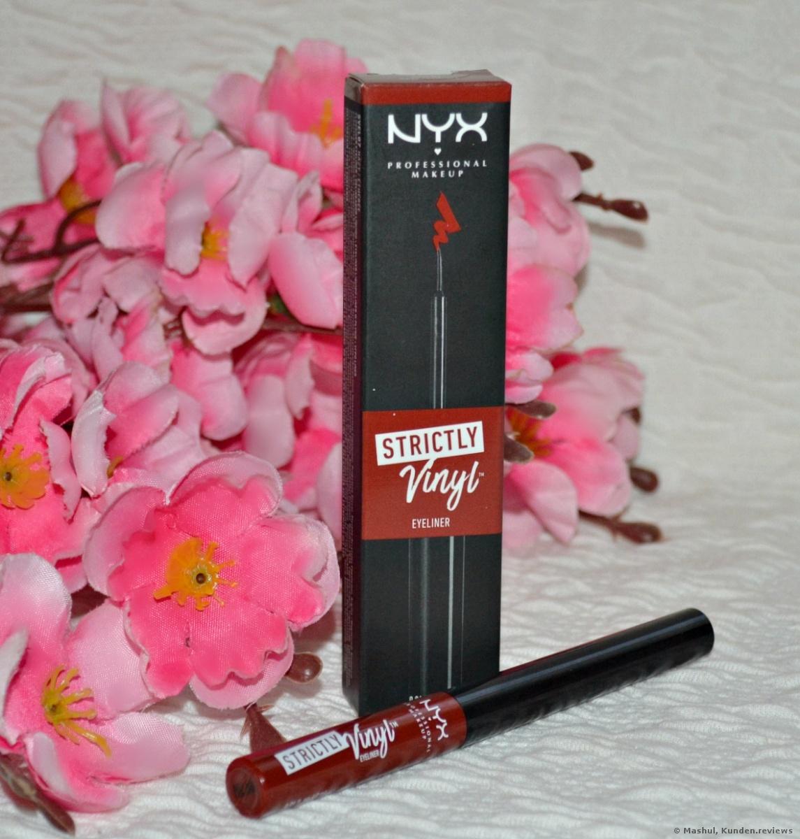 NYX Strictly Vinyl Eyeliner Foto