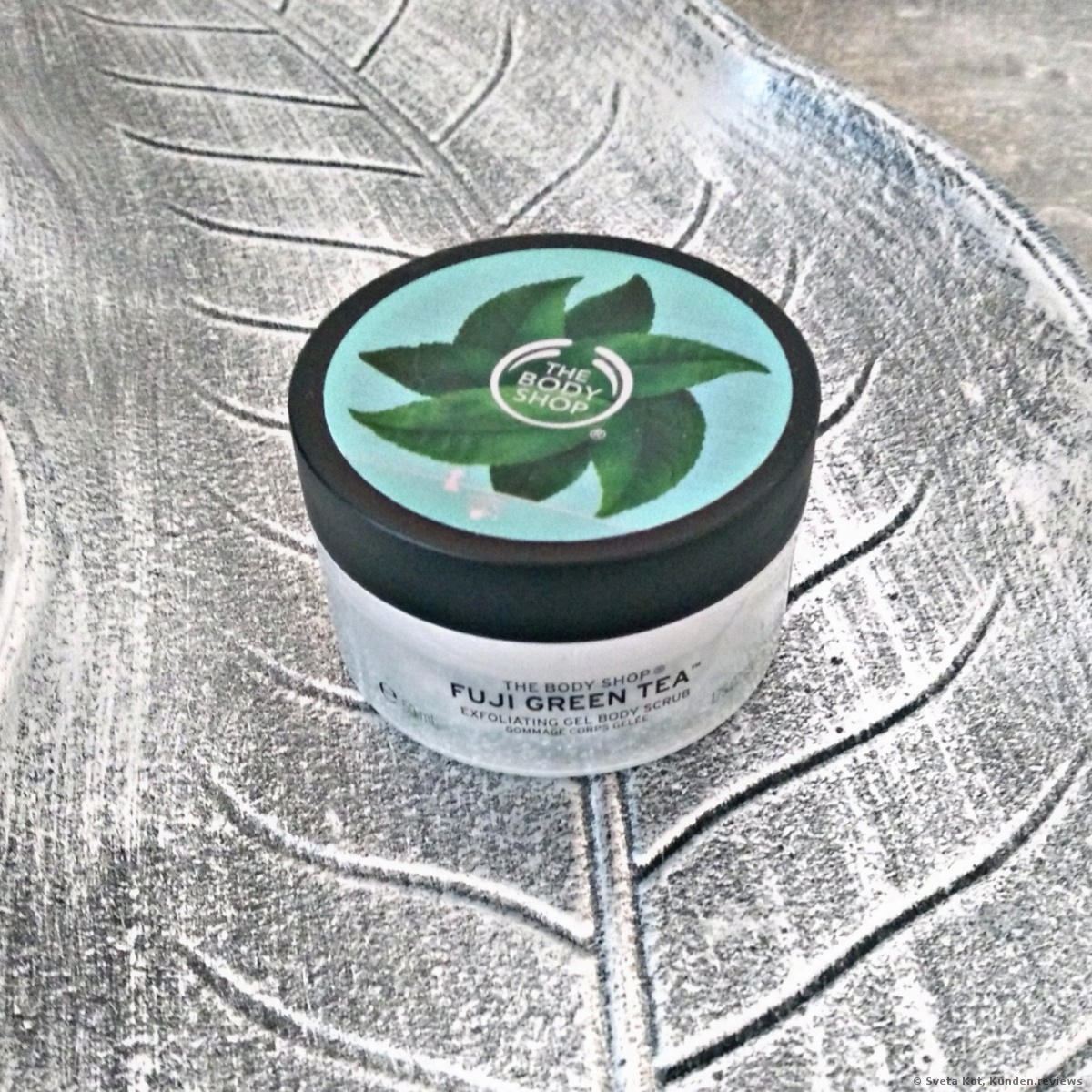 "Körperpeeling ""Fuji Green Tea"" von The Body Shop"