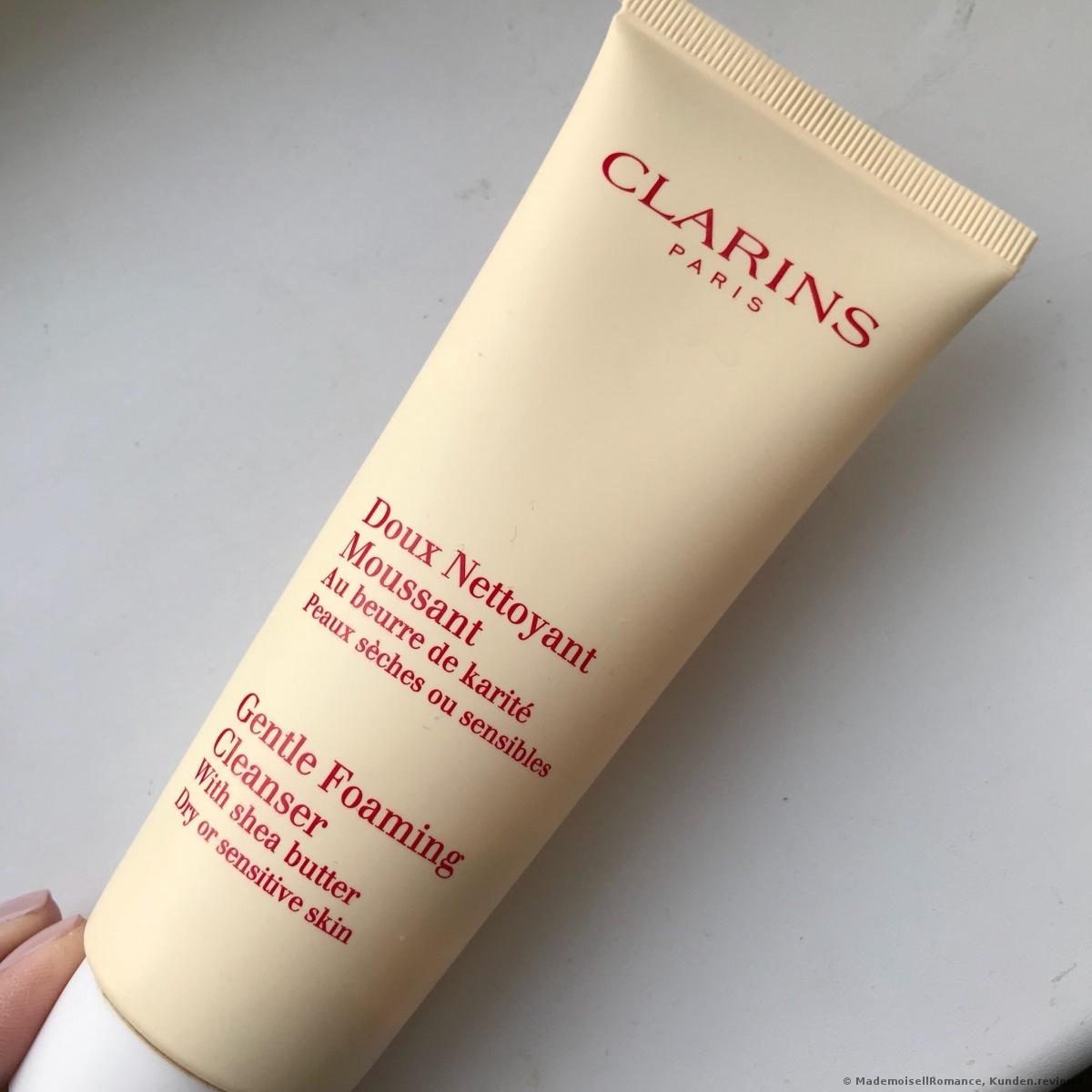 Clarins Doux Nettoyant Moussant peaux sèches ou sensibles Reinigungsschaum Foto