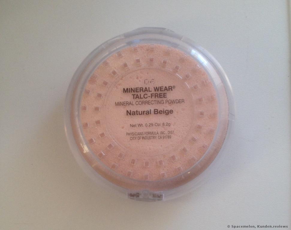 Mineral Wear Talc-Free Mineral Correcting Powder von Physicians Formula