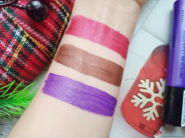 NYX Suede Metallic Matte  Lipgloss