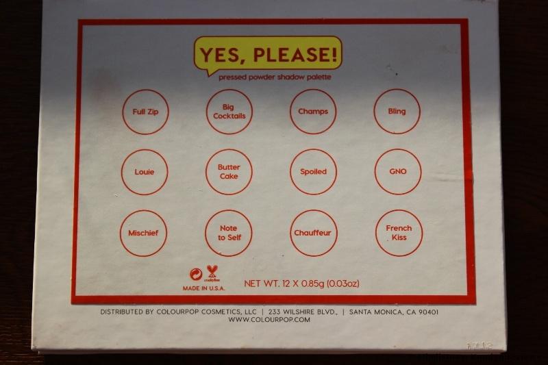 Colourpop Yes, Please! Eyeshadow Lidschatten Foto