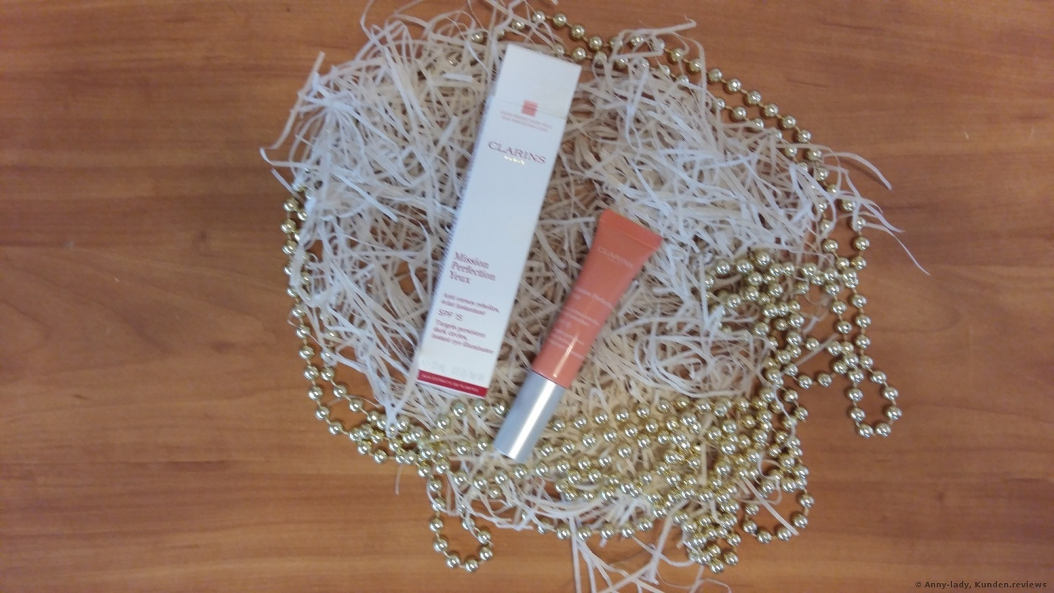 Clarins  Mission Perfection Yeux SPF 15 Augencreme Foto