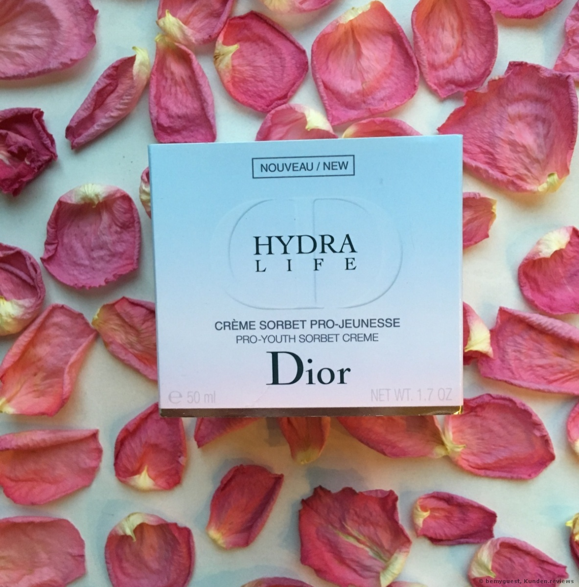 Dior Sorbet Pro-Jeunesse Hydra Life Pro-Youth Silk Creme Gesichtscreme Foto
