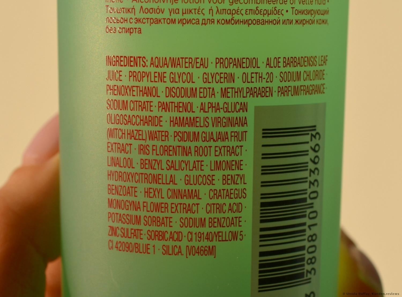 Clarins Lotion Tonique Sans Alcool Iris Peaux Mixtes ou Grasses Reinigungslotion Foto