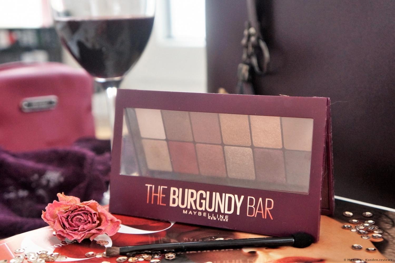 Maybelline  The Burgundy Bar 12 in 1 Lidschatten Foto
