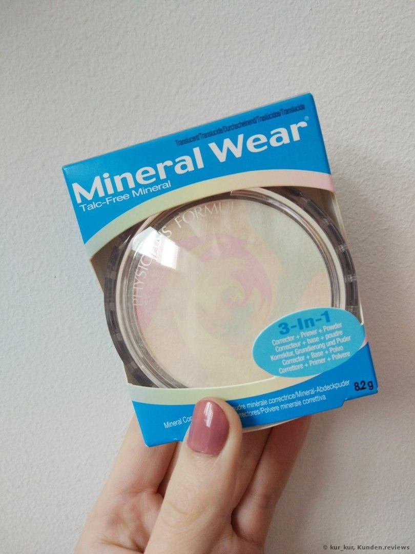 Der Mineral Wear Talc-Free Mineral Correcting Powder von Physicians Formula