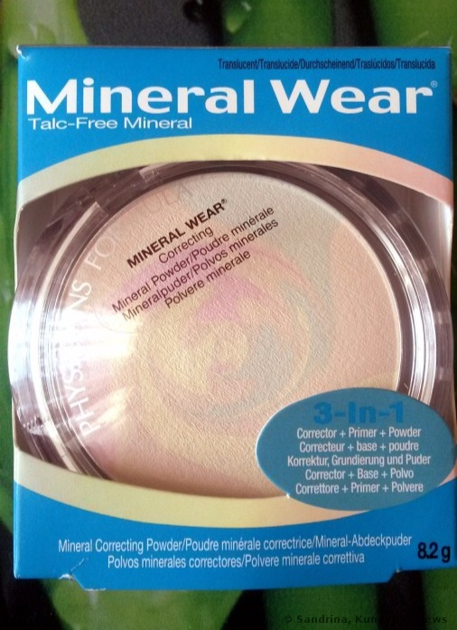Physicians Formula Puder Mineral Wear Talc-Free Mineral Correcting Powder