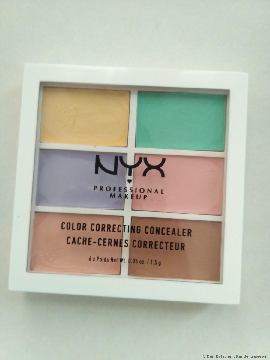 Palette Color Correcting Concealer