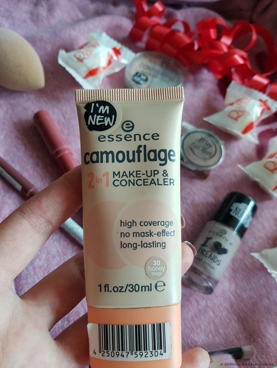 Essence Concealer camouflage 2 in 1 make-up Foundation Foto