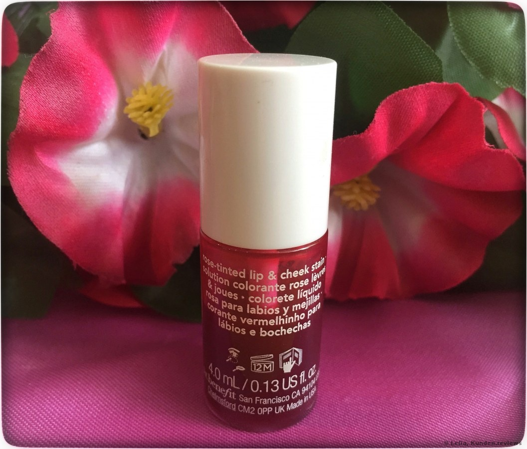 Benefit Lippenfarbe Bentint