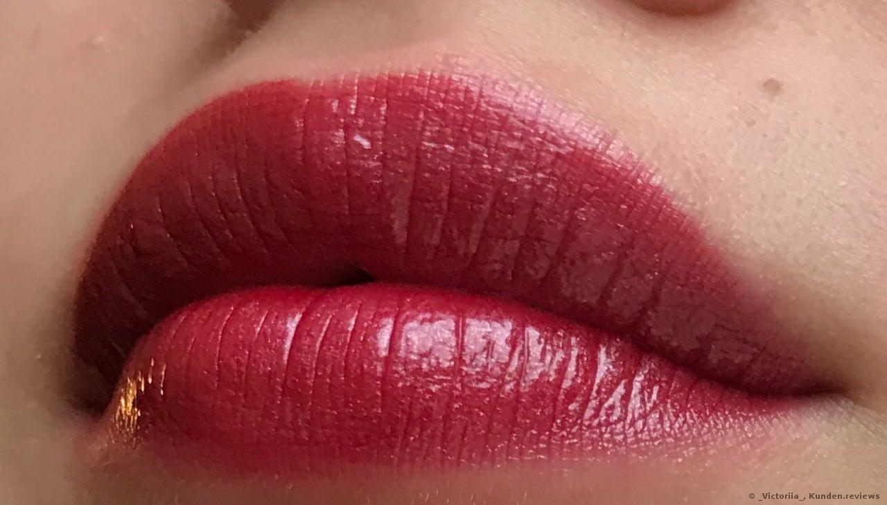 Giorgio Armani Lippen-Make-up Ecstasy Lacquer nach 5 Stunden tragen