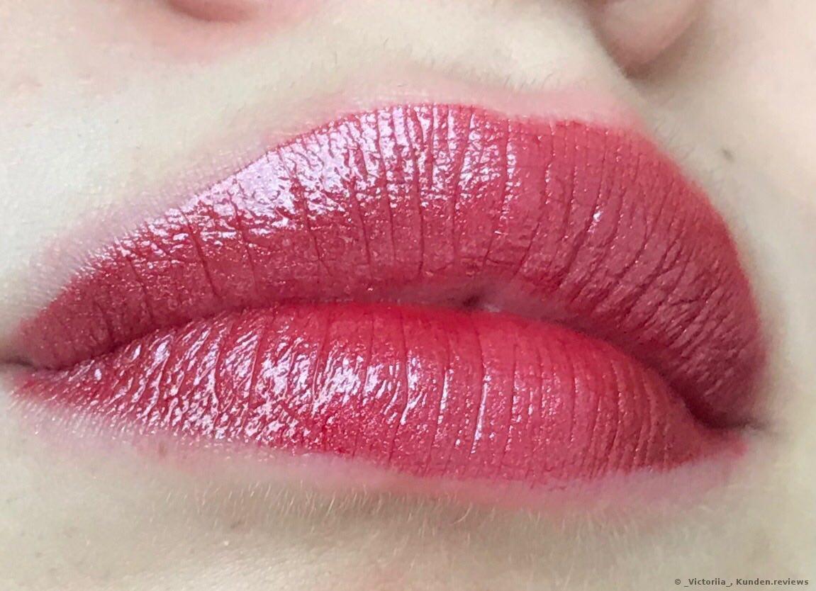 1. Schichten von Giorgio Armani Lippen-Make-up Ecstasy Lacquer
