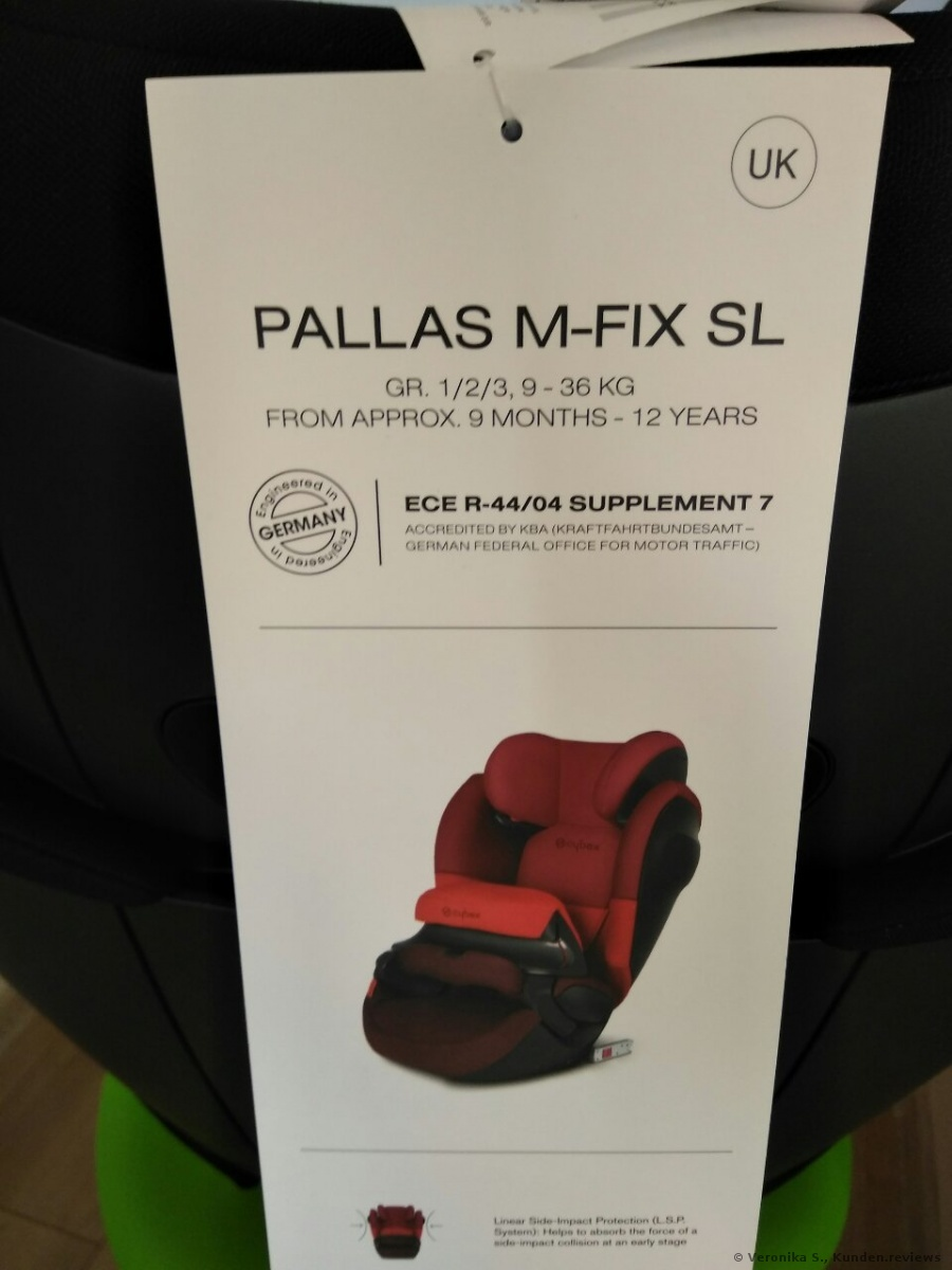 Cybex PALLAS M-FIX SL KINDERSITZ