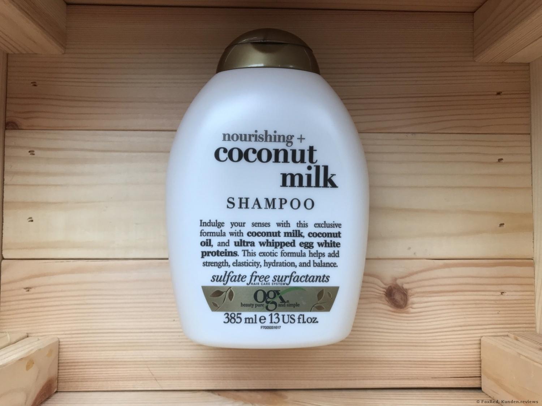 OGX Organix Nourishing Coconut Milk Shampoo
