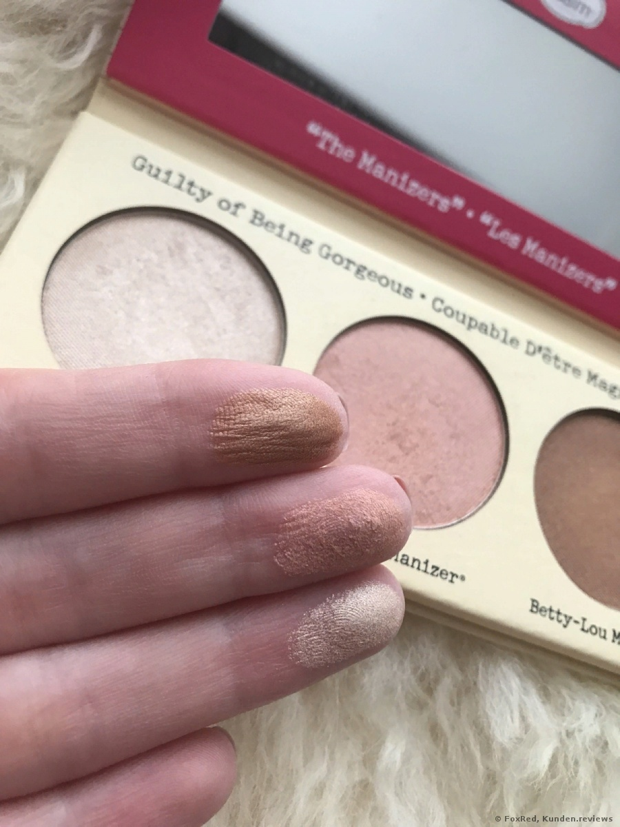 the Balm Highlighter The Manizer Sisters
