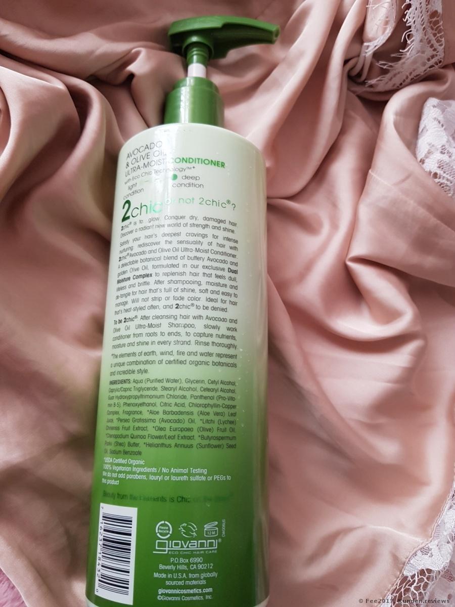 Giovanni 2chic Avocado & Olive Oil Ultra-Moist Conditioner Foto