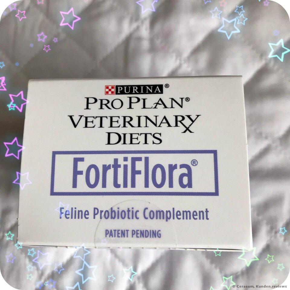 PURINA Veterinary Diets FortiFlora Feline Nahrungsergänzung Foto