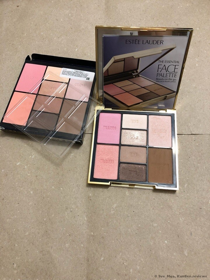 Estee Lauder The Essential Face Palette Lidschatten Foto