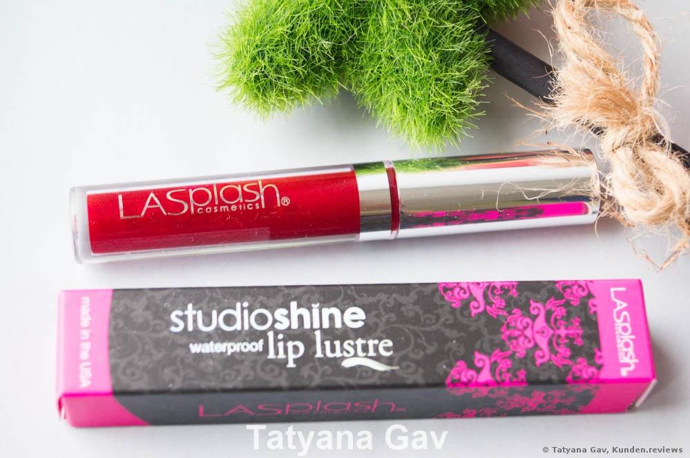 LA Splash Studio Shine Lip Lustre Lippenstift Foto