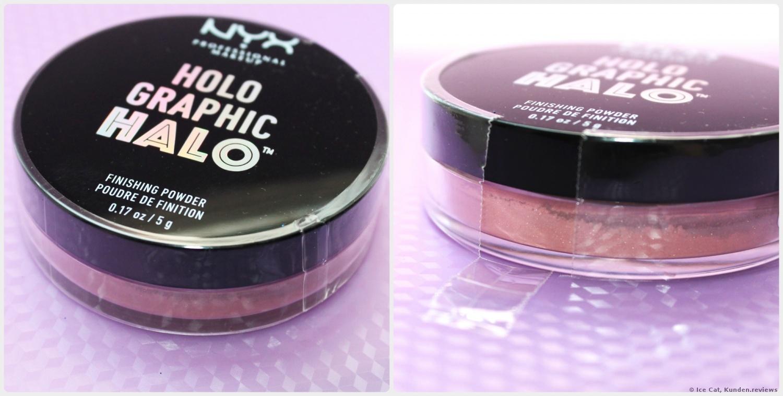 NYX PROFESSIONAL MAKEUP Fixierpuder Holographic Halo Finishing Powder