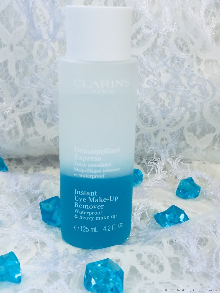 Clarins Démaquillant Express Yeux  Make-up Entferner Foto
